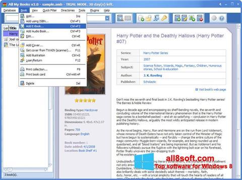 截图 All My Books Windows 8