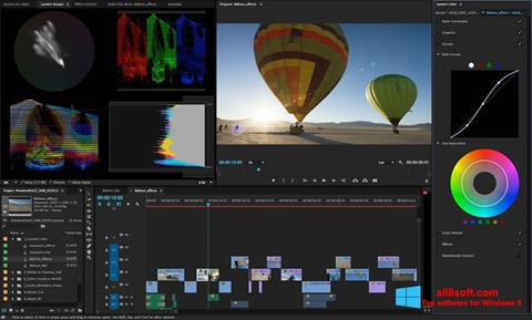 截图 Adobe Premiere Pro Windows 8