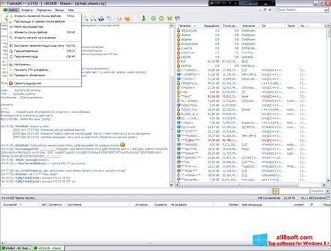 截图 FlylinkDC++ Windows 8