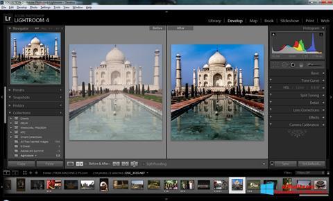 截图 Adobe Photoshop Lightroom Windows 8