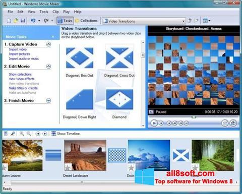截图 Windows Movie Maker Windows 8