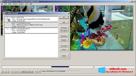 截图 VirtualDubMod Windows 8