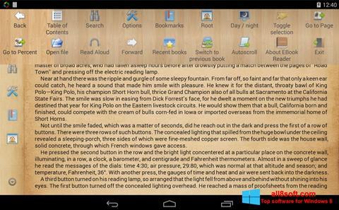 截图 Cool Reader Windows 8