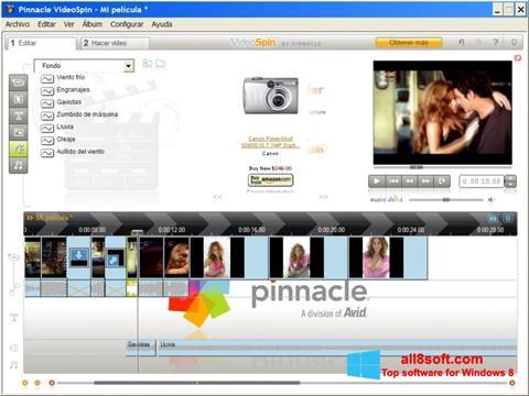 截图 Pinnacle VideoSpin Windows 8