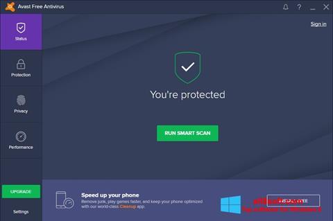 截图 Avast Free Antivirus Windows 8