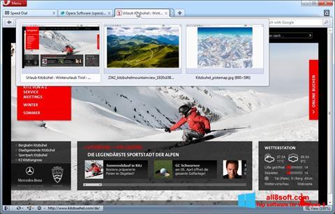 截图 Opera Windows 8