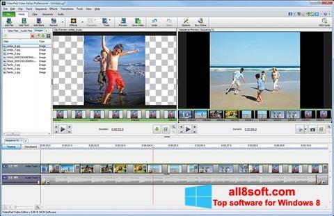 截图 VideoPad Video Editor Windows 8