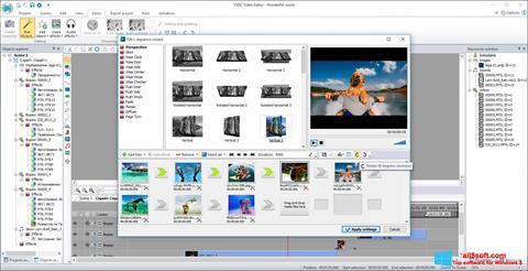 截图 VSDC Free Video Editor Windows 8