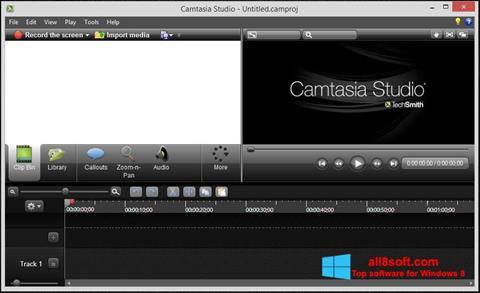 截图 Camtasia Studio Windows 8
