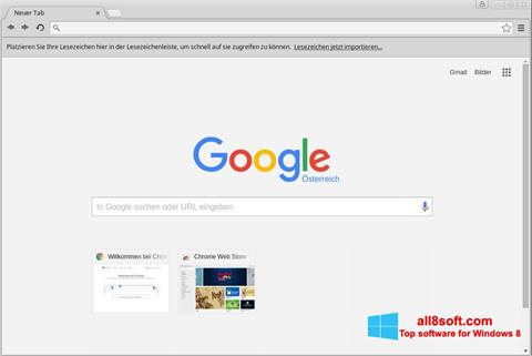 截图 Google Chrome Windows 8