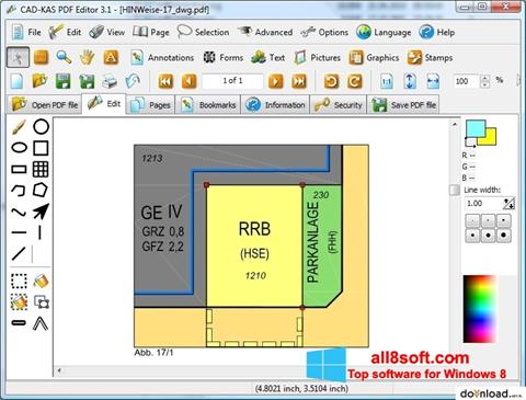 截图 PDF Reader Windows 8