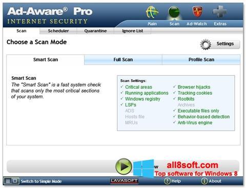 截图 Ad-Aware Windows 8